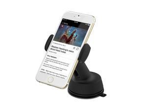 Sabrent Universal Car Window/Dash Mount Holder for Most Smartphones Devices, [Black] (CM-SPHB)