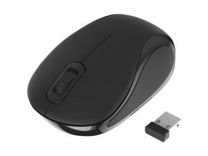 Sabrent Mini Travel 2.4GHz Wireless Mouse with Nano Receiver (MS-WSML)