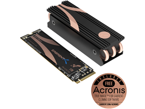 Sabrent 1TB Rocket Nvme PCIe 4.0  M.2 2280 Internal SSD Maximum Performance Solid State Drive With Heatsink (SB-ROCKET-NVMe4-HTSK-1TB)