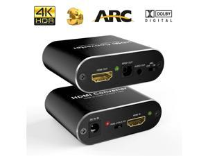 HDMI 2.0 audio extractor 5.1 ARC 4K 60Hz HD HDMI Converter audio Independent output stereo Optical TOSLINK SPDIF for PS4 Speaker