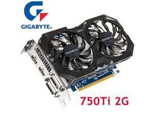 GTX 750 Ti 2GB Video Cards 128Bit GDDR5 Graphics Cards for nVIDIA Geforce GTX750Ti 2G Dvi Hdmi VGA Cards 750Ti-2GB