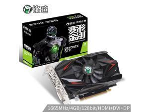 MAXSUN/GTX 1650 4 gb / 128 - bit GDDR5 GPU graphics card/computer display card/DVI/HDMI/DP game graphics/GTX960/750 Ti