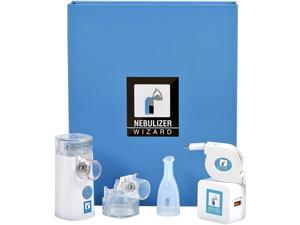 Nebulizer Wizard Rechargeable Silent Portable Nebulizer