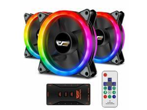 Aigo Aurora DR12 Pack of 3 Kit RGB 120mm High Performance Case DIY Cooler Fan