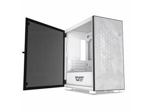 DLM21 MESH Front Panel Micro ATX Tower Gaming Computer PC Case