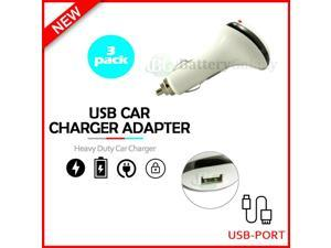 3X USB Car Charger Fast Adapter for  Galaxy S21 / S21+ / S21 Ultra