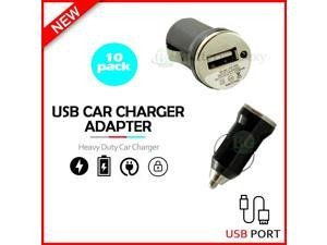 10X USB Car Charger Mini Adapter for  Galaxy S21 / S21+ /S21 Ultra