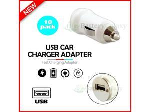 10X USB Car Charger Mini Adapter for  Galaxy S21 / S21+ / S21 Ultra