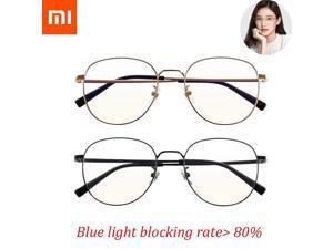 Xiaomi Mijia Anti Blue Light Glasses 80% above Blue Ray Blocking ultra-light ß Ti temples nylon lens antifouling wearresistant