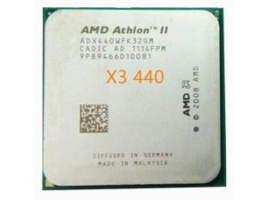 AMD Athlon II X3 440 x3 440 processor 3.0GHz 1.5MB L2 Cache Socket AM3 x3 440