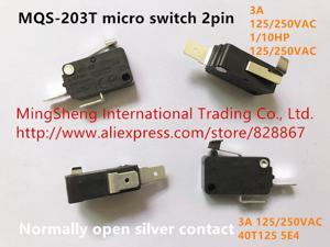 MQS-203T micro switch 2pin normally open silver contact