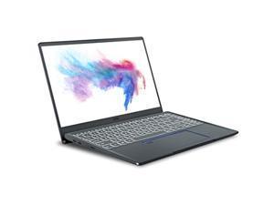 """MSI Prestige 14 A10SC-229 14"""" UHD 4K Ultra Thin and Light Professional Laptop Intel Core i7-10510U GTX1650 MAX-Q 16GB DDR4 512GB NVMe SSD Win10Pro TB3, Carbon Grey"""