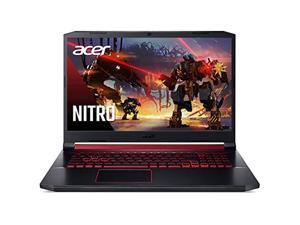 "Acer Nitro 5 Gaming Laptop, 9th Gen Intel Core i7-9750H, NVIDIA GeForce RTX 2060, 17.3"" Full HD IPS 144Hz 3ms Display, 16GB DDR4, 256GB NVMe SSD, Gigabit WiFi 5, Backlit Keyboard, AN517-51-76V6"