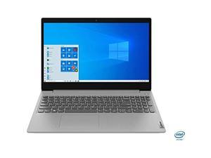 "Lenovo IdeaPad 3 15.6"" Laptop - Intel Core i3-1005G1- FHD - WebCam - 8GB Memory - 256GB SSD -Webcam - WiFi - USB 3.0 - Platinum Grey 81WE011UUS"