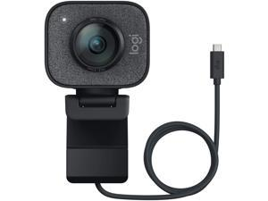 Logitech StreamCam, 1080P HD 60fps Streaming Webcam with USB-C and Built-in Microphone,Graphite