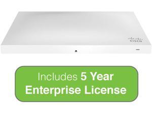 Cisco Meraki MR53 Wireless Access Point with 5 Year Enterprise License