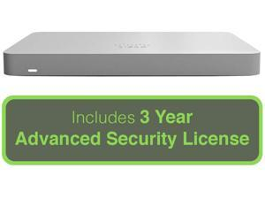 Cisco Meraki MX67 Small Branch Security Appliance with 3 Year Advanced Security License