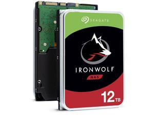 "Seagate IronWolf ST12000VN0008 12TB 3.5"" SATA 7200 rpm Internal Hard Drive"
