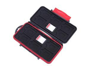 Portable All in One Large Capacity Memory Card Box Waterproof Shockproof  SD And TF Card Storage Case ping