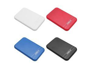 Portable HDD Case 2.5 inch SATA 2 to USB 3.0 Enclosure 6Gbps External SSD Hard Disk Drive Box Support 8TB Hard Drive