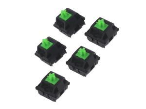 5Pcs Greetech Green Switches Axis for Razer Gaming Mechanical Keyboard for Cherry MX 3pin Switch Whosale &