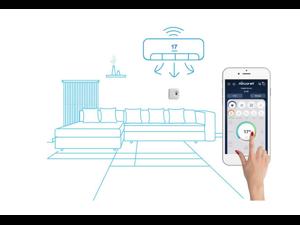AIRCON Wireless Remote Control 3G,4G, Wifi, smartphone control