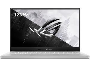 "ASUS ROG Zephyrus G14 14.0"" FHD 120Hz Ultra Thin Gaming Laptop, AMD Octa-Core Ryzen 9 4900HS, Nvidia RTX 2060-MaxQ, 16GB DDR4 RAM, 1TB PCIe SSD, Backlit Keyboard, Windows 10 Home, Moonlight White"