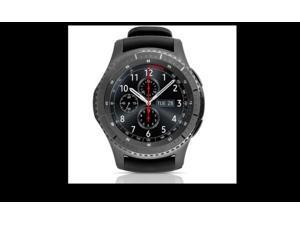 Samsung - Gear S3 Frontier SM-R765V Smartwatch 46mm Stainless Steel Verizon - Dark Gray