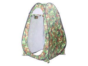 Camping Tent Camouflage Single Portable Bathroom Tent w/ a Handbag