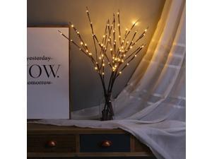 Battery Powered Simulation Branch Night Light Bedside Table Lamp Bedroom Desk Home Decoration