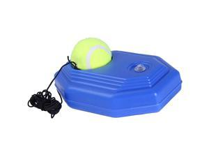 Tennis Single Trainer With Rope Wear-Resistant Tennis Training Supplies Rebound Single Tennis Training Rebound Ball Tennis Practice Equipment