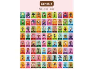 Animal Crossing - New 100Pcs Series 4 No.301-400 Full Set NFC PVC TAG Mini Cards for Switch AMIIBO WII U (With Card box)
