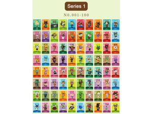 Animal Crossing - New 100Pcs Series 1 No.001-100 Full Set NFC PVC TAG Mini Cards for Switch AMIIBO WII U (With Card box)