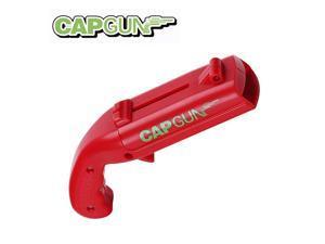 Cap Gun Bottle Opener Magnet Beer Opener Launcher Shooter Shoots Over 5 Meters for Home Bar Party Drinking Game(Red)