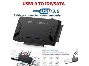 USB3.0 to SATA/IDE HDD Hard Disk Drive Converter 2.5/3.5inch External Hard Disk Case Box 5 Gbps High Speed US Plug