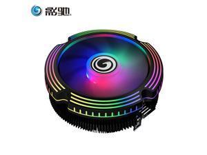 3Pin Desktop PC CPU Fan PC Computer CPU Cooler Heatsink for Intel (Core i3/i5/i7 CPU)  AMD