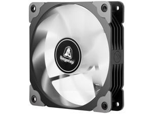 3Pin + 4 Pin Molex Dual Type Interface 120mm Case Fan Desktop Computer Chassis Fan High Air Volume Low Noise without LED/Light