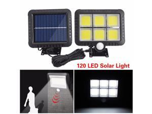 120 LED Solar Light Outdoor Solar Lamp PIR Motion Sensor Wall Light Waterproof Solar Powered Sunlight For Garden Decoration