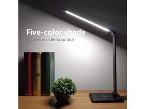 52PCS LED Desk Lamp 5 Color x5 Dimable Level Touch USB Chargeable Reading Eye-protect with timer Table lamp Night Light