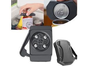 Go Swing Topless Can Opener-Bar Tool- Professional Safety Easy Manual Can Opener with Locking Feature-No Sharp Edge- Effortless Openers for Household Kitchen(fits 8-19 oz Beverage Cans)