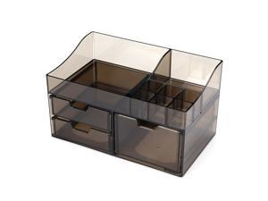 Acrylic Cosmetic Transparent Storage Box All In One-#01