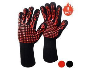 NW 1776 Oven Gloves, Heat Resistant Gloves, Kitchen Gloves, BBQ Gloves, Grilling Gloves, Heat Resistant Oven Gloves, Heat Resistant Up to 800?, Cooking, Baking, Welding