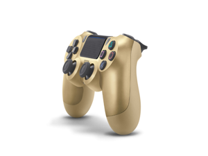 WJS Ps4 Wireless Controller With Dual Vibration Bluetooth Gamepad for PlayStation 4 Pro Gaming Remote Control Gold