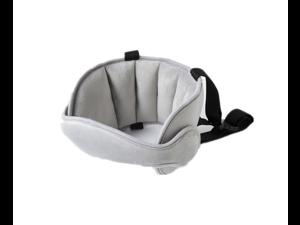 Comfortable Safe Neck Relief Head Protector Belt Baby Sleep Aid Strap - Grey Grey