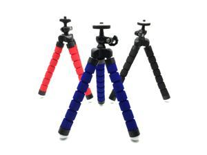 Flexible Tripod for iPhone, Android, GoPro, Compatible with All Cell Phones and Action Cameras with Universal Clip