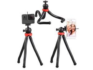 305 Flexible Octopus Mobile Phone Camera DSLR Tripod for Travel Photography,1/4 universal screw Selfie Stick Stand
