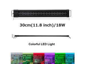 11.8 Inch IP68 Waterproof 18W  Sunrise and Sunset LED Aquarium Fish Tank Light  Colors Change 24/7 Luminous Mode Fish Tank Controller