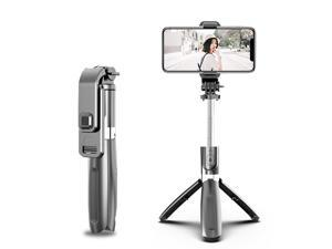 Bluetooth wireless  Selfie Stick Remote Control Tripod Handphone Live Photo Holder Tripod Camera foldable Handheld Shutter Remote Extendable Selfie Stick