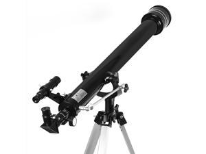 Telescope Astronomical Manufacturer 90060 HD Professional Astronomical Refractor Telescope for Kids Learning the Stars& Planets