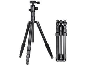 SIROKA Professional 55 Inches  Portable Tripods for Gopro,SLR,Canera,Mobile Phone with 360 Degree Ball Head